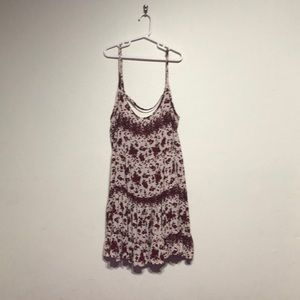 Brandy Melville rose print dress